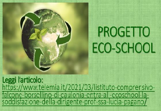 Immagine in evidenza ECO-SCHOOL